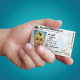 ID Card and Hand Mockup - GraphicRiver Item for Sale