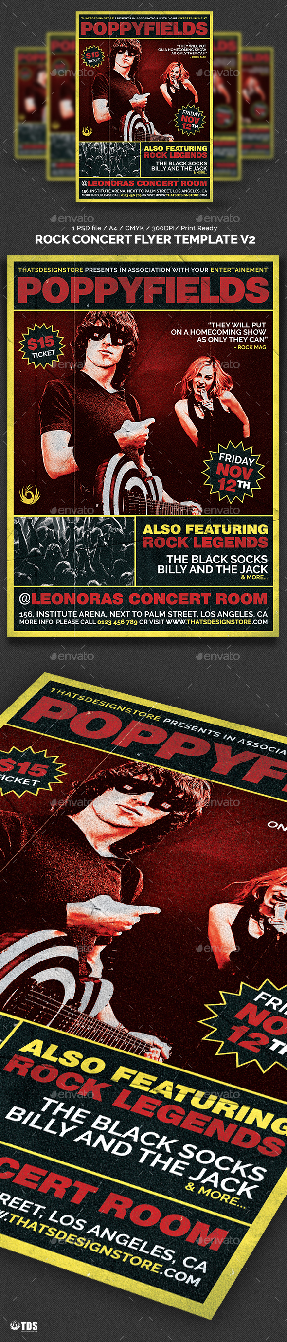 Concert Flyer Templates From Graphicriver Page 18