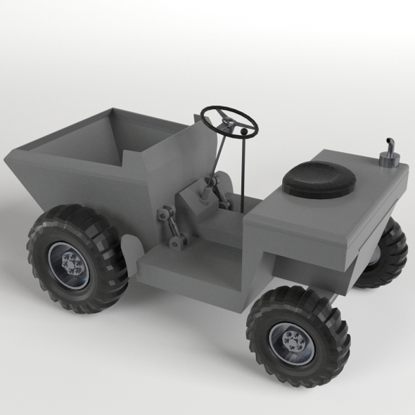 Tipper - 3DOcean Item for Sale