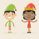 Santa Elves - GraphicRiver Item for Sale