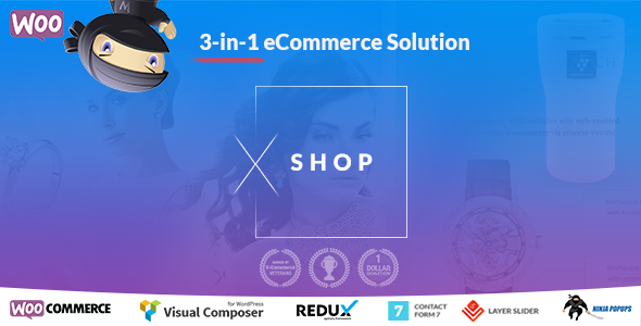 XShop | eCommerce WordPress Theme for Single – Multipurpose WooCommerce Shop