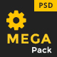 Mega Pack - Factory, Industry & Construction PSD Template Nulled