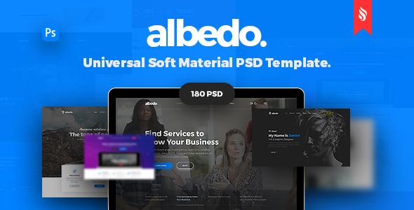 Albedo – Universal & Multipurpose Soft Material PSD Template