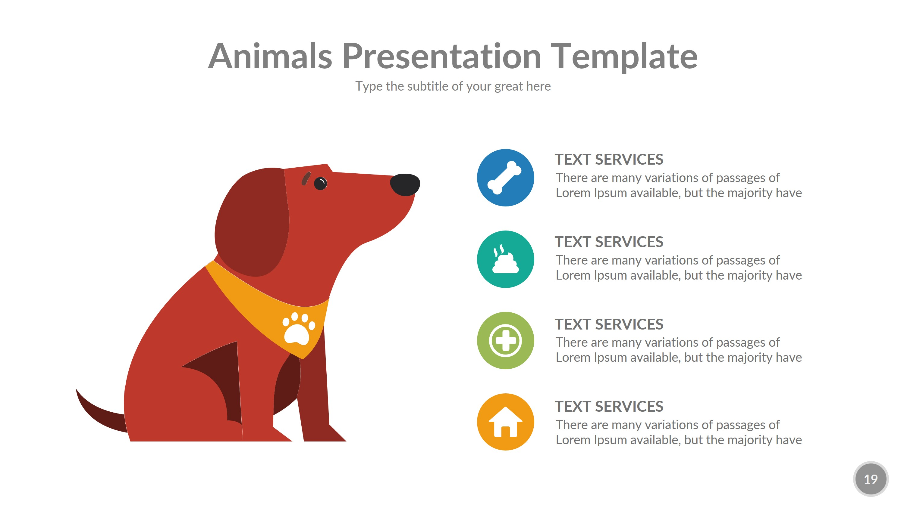 Wild nature animals powerpoint templates and powerpoint.