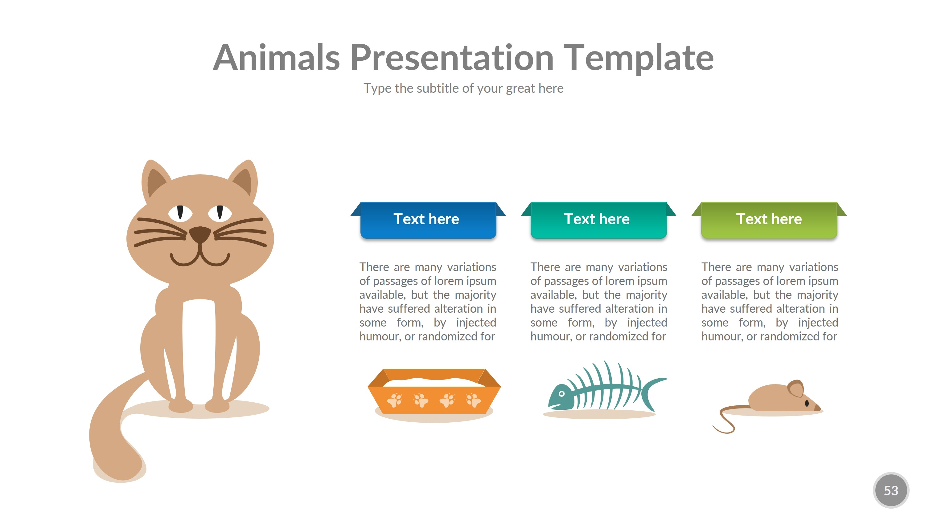 Animals Powerpoint Presentation Template