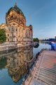 The Dom of Berlin and the river