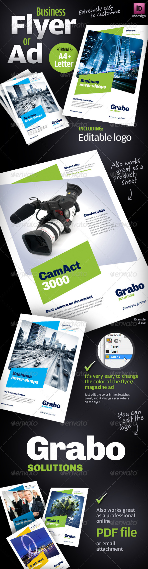 Business Flyer / Ad / Product sheet - Corporate Flyers