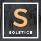 Solstice - A WordPress Blog Theme - ThemeForest Item for Sale
