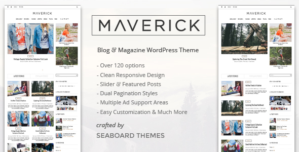 Maverick - A WordPress Magazine Theme - News / Editorial Blog / Magazine