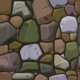Cartoon Colors Stone Texture Seamless Background - GraphicRiver Item for Sale