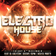 Electro House Poster Template - GraphicRiver Item for Sale