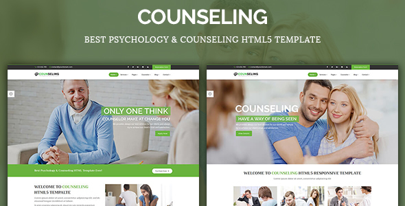 Counseling – Best Psychology & Counseling HTML5 Template