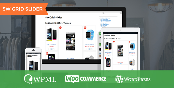 Grid Slider - WooCommerce WordPress Plugin - CodeCanyon Item for Sale