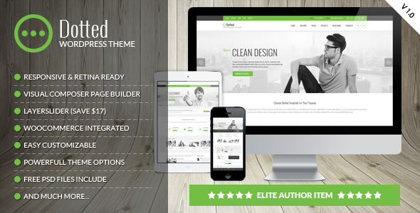 Dotted - Corporate Multipurpose WordPress Theme - Business Corporate