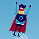 Super Hero Mascot Animated Cartoon - VideoHive Item for Sale