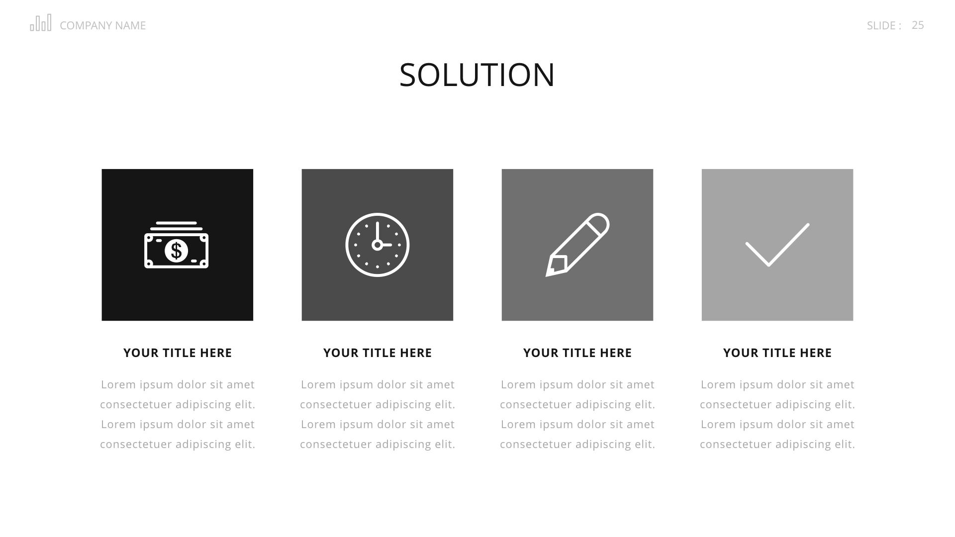 Startup Business Plan Keynote Presenation Template by