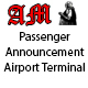 Passenger Announcement in Airport Terminal