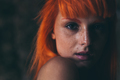 Portrait of young red hair girl - PhotoDune Item for Sale