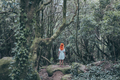 Young woman with white dress on forest - PhotoDune Item for Sale