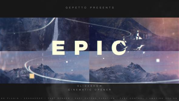 Epic Slideshow I Cinematic Opener