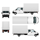 Delivery Van Template - GraphicRiver Item for Sale