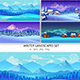 Set of Winter Landscapes - GraphicRiver Item for Sale