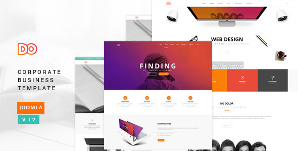 Do – Multipurpose Responsive Joomla Theme
