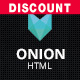 Onion - Responsive & Creative Retina Ready HTML Portfolio Theme with Parallax and Big Images Nulled