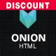 Onion - Responsive & Creative Retina Ready HTML Portfolio Theme with Parallax and Big Images