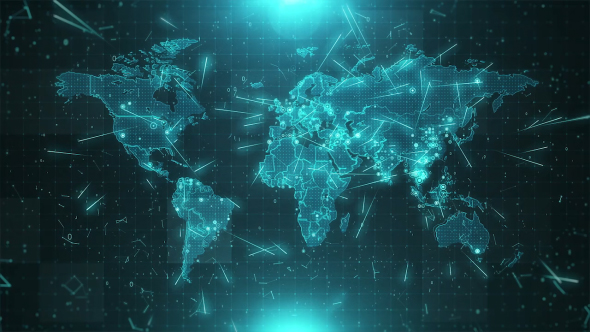World map background cities connections hd by rodionova videohive play preview video gumiabroncs Gallery