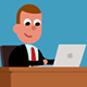Little Manager In The Office - VideoHive Item for Sale
