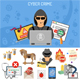 Cyber Crime Concept - GraphicRiver Item for Sale
