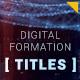Digital Formation Titles - VideoHive Item for Sale