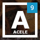 Acele - Multi Purpose App Showcase - Landing Page WordPress Theme Nulled