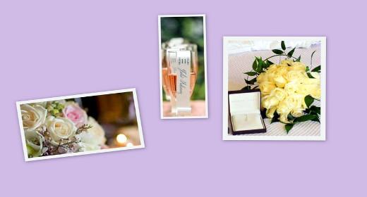 Collezione di foto per le nozze