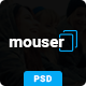 Mouser | Agency & Business Multipurpose PSD Template - ThemeForest Item for Sale