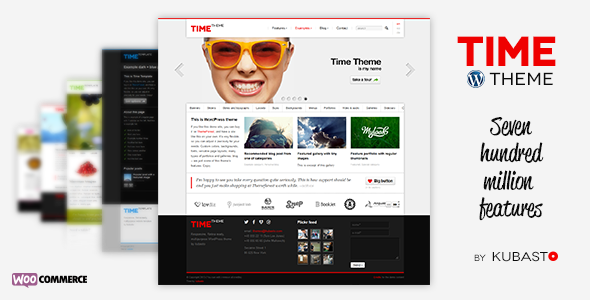Time - Responsive WordPress Theme