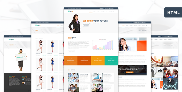 Bizpro Business Template