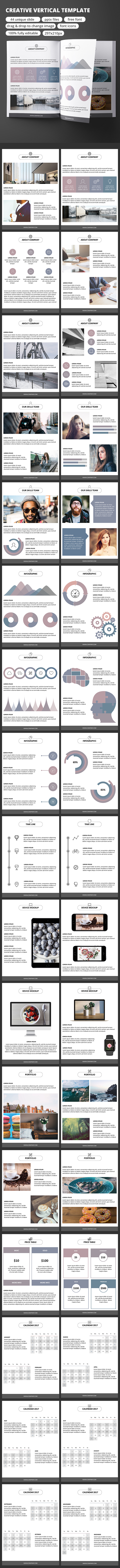 Creative vertical powerpoint template by dmitriynova graphicriver creative vertical powerpoint template business powerpoint templates toneelgroepblik Image collections
