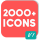 2000 Animated Icons Pack - VideoHive Item for Sale