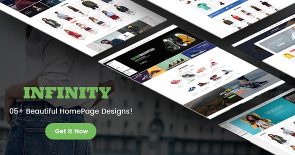 Infinity – Fashion/Sport eCommerce PSD Template