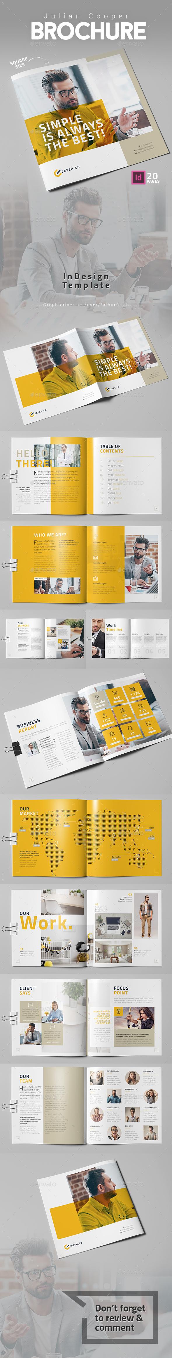 Julian Cooper Brochure - Square - Corporate Brochures