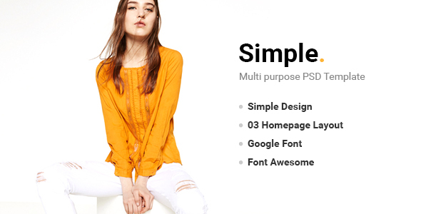 Simple – PSD Template