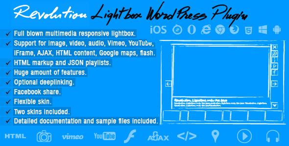 Revolution Lightbox Wordpress Plugin