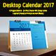 Multipurpose Desk Calendar 2017 - GraphicRiver Item for Sale