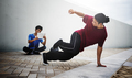 Breakdance Freestyle Hip-Hop Streetdance Teenager Concept