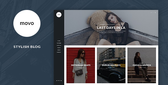 Movo – Stylish Blog Template