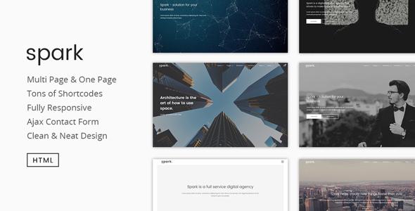 Spark | Modern Multipurpose HTML5 Template