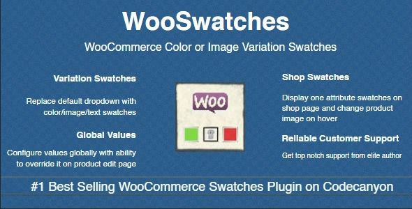 WooSwatches - Woocommerce Color or Image Variation Swatches - CodeCanyon Item for Sale