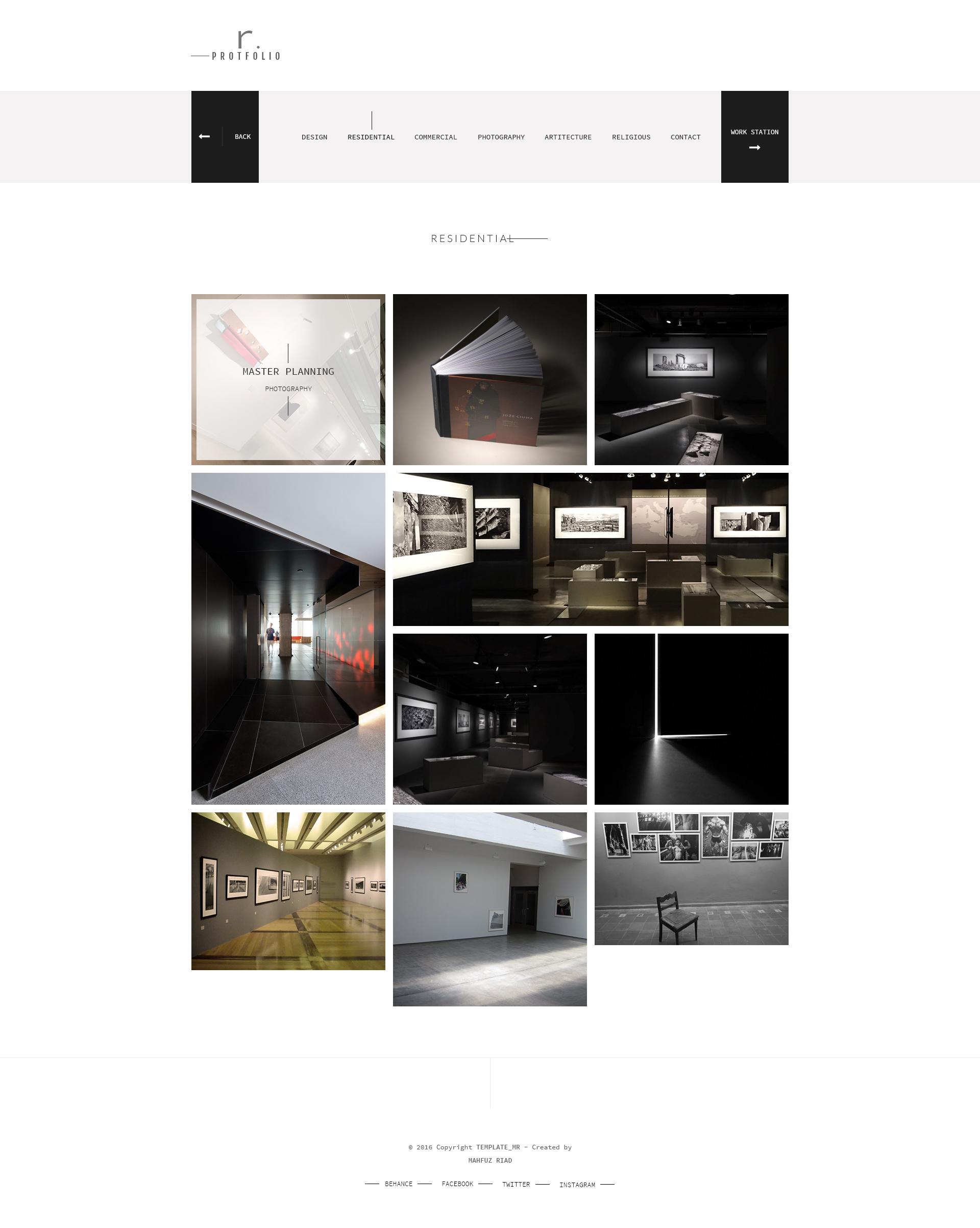 RPROTFOLIO Creative PersonalCompany Portfolio template by – Company Portfolio Template